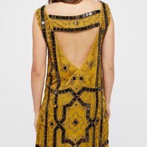 Free People Dresses - Free people speak easy embellished mini dress